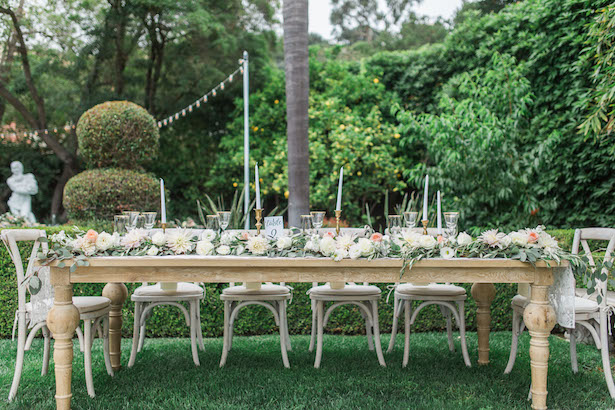 Wedding party table - Kiel Rucker Photography