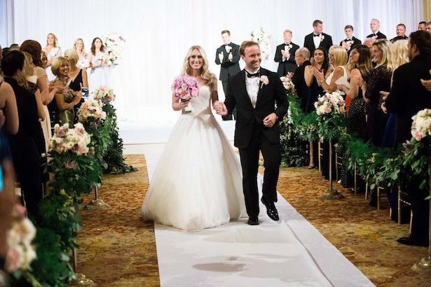 Ballroom wedding ceremony - Style and Story Photography