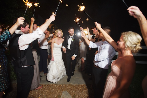 Wedding Exit - Justine Wright Photography