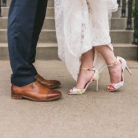 Wedding shoes - Manifesto Photography (W& Q)