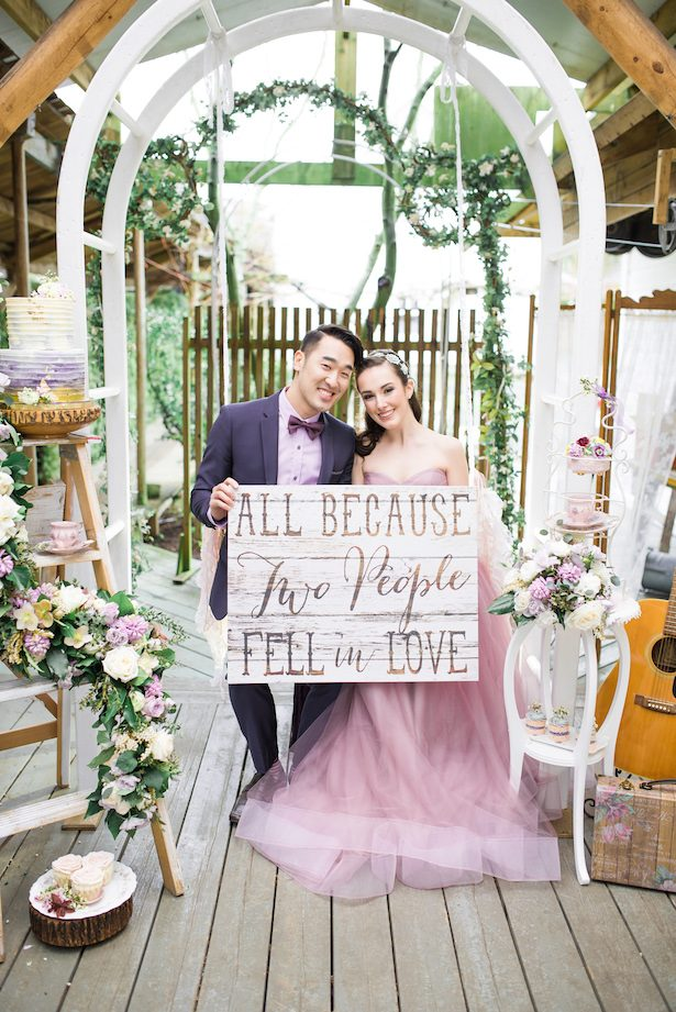 Wedding sign - L'estelle Photography