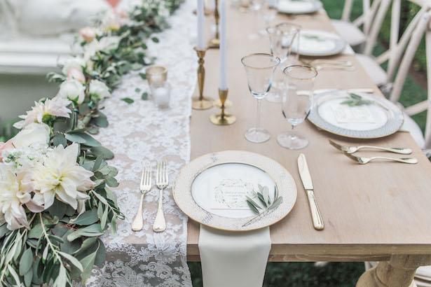 Wedding table decor - Kiel Rucker Photography