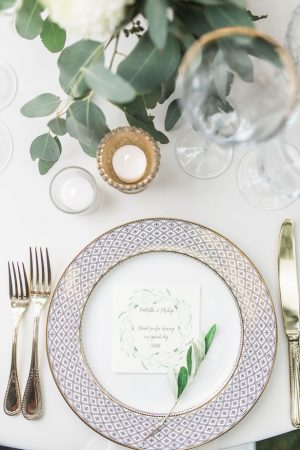 Wedding place setting - Kiel Rucker Photography