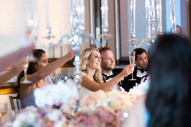 Wedding toast - Style and Story Photography