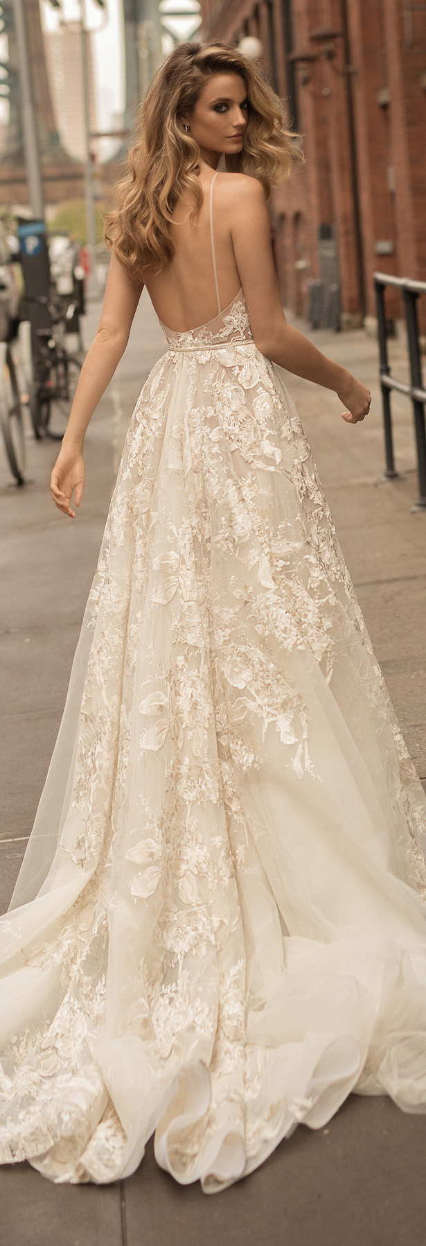 Berta wedding dress collection spring 2018 belle the for Where to buy berta wedding dresses