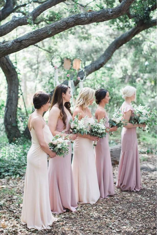 Bohemian Bridesmaid Look - Kiel Rucker Photography