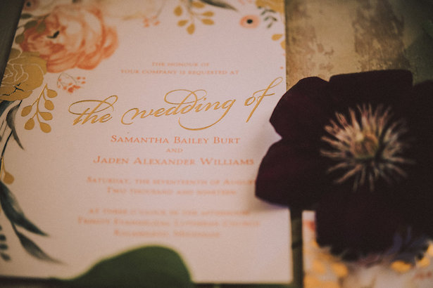 Wedding Invitation - Cristin