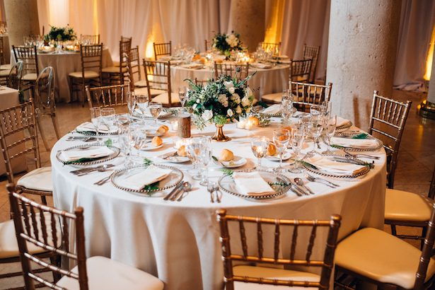 Gold wedding tablescape - Esteban Daniel Photography