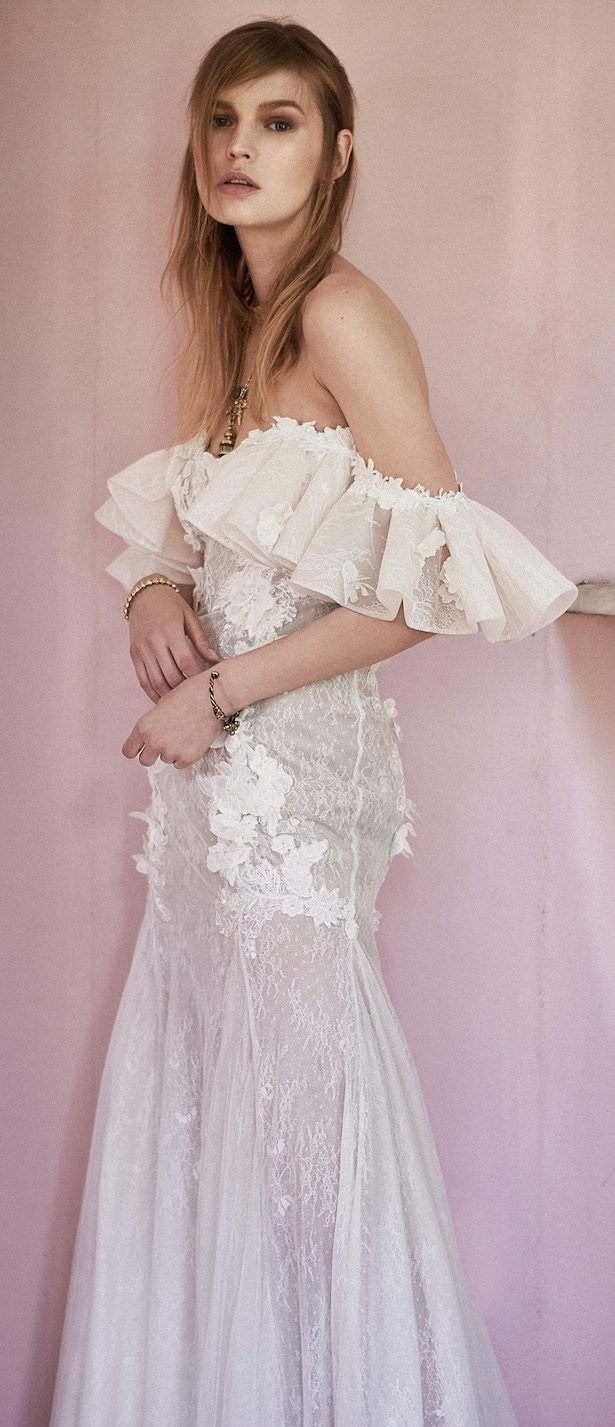 Costarellos Spring 2018 Wedding Dress Collection