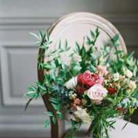 Grenery bridal bouquet - Whitney Heard Photography