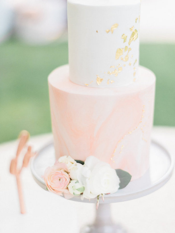 Marble Wedding Cakes - Photography: Ether & Smith