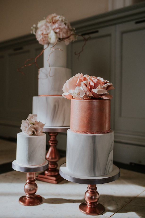 Marble Wedding Cakes - Sadie May Cakes