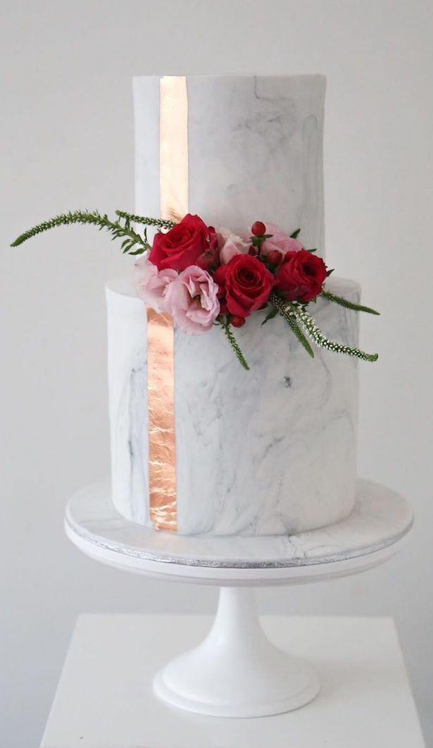 Marble Wedding Cakes - Cake by Sweet Bakes