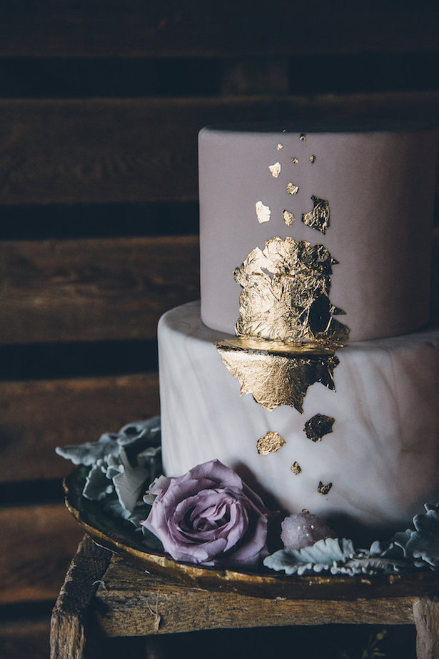 Marble Wedding Cakes - Ed & Aileen Photography