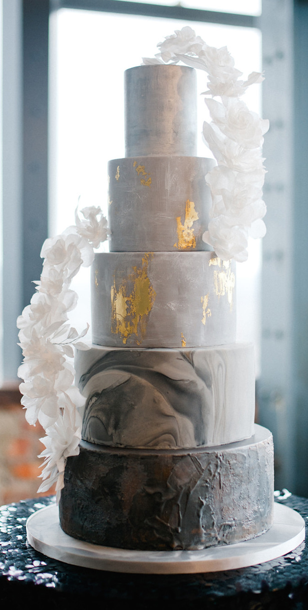 Marble Wedding Cakes - Photography: Anushé Low