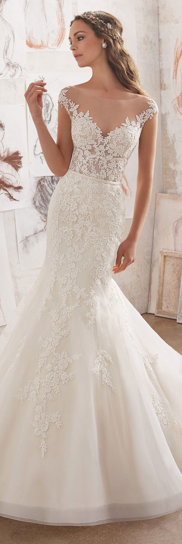 Best Wedding Dresses of 2017 -Mori Lee by Madeline Gardner Wedding Dress Collection Blu Spring 2017