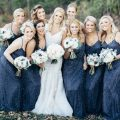 Navy Blue Bridesmaid Dresses - The Waldron Photography Co