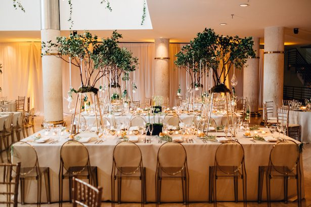 Tree wedding centerpiece - Esteban Daniel Photography