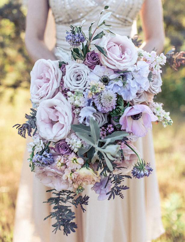 Cascading Wedding Bouquet - Photography: Paco and Betty