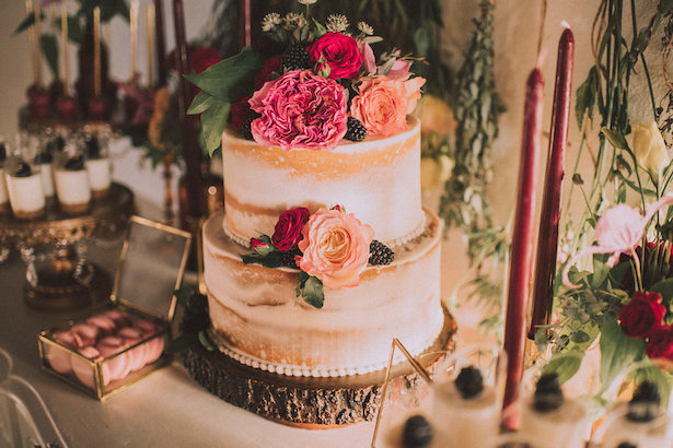 Wedding Cake - Cristina Navarro Photography