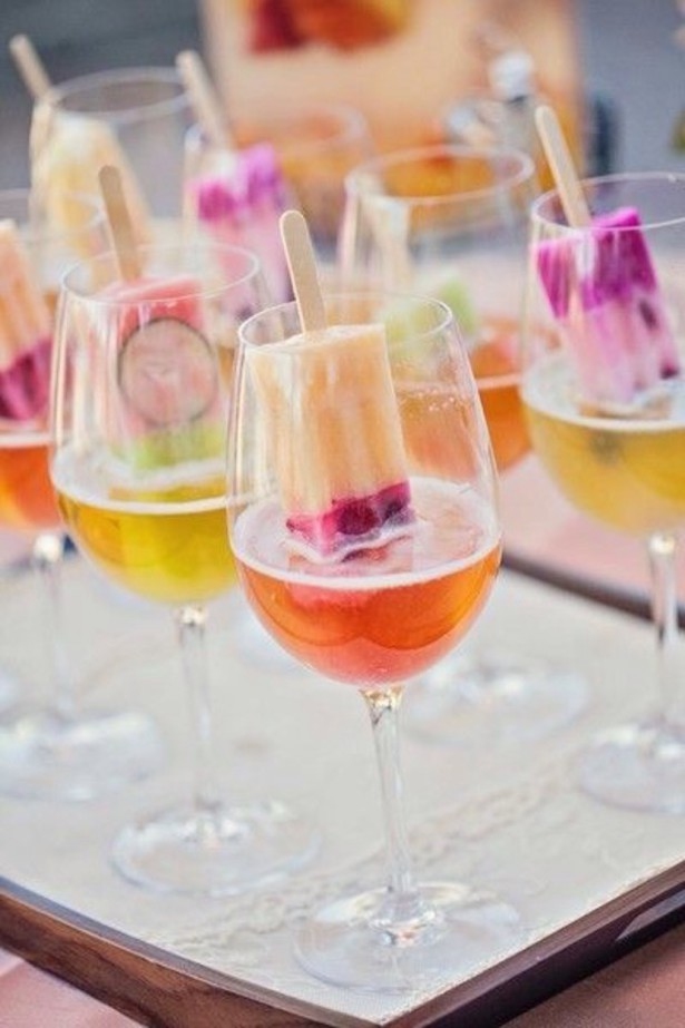 Wedding Popsicle Cocktails - Debbie Kennedy Events