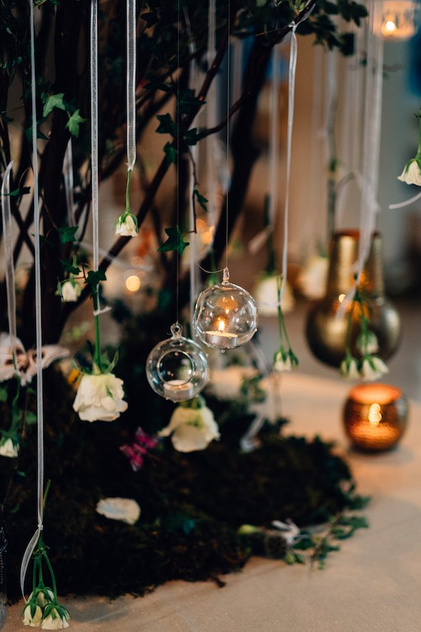 Greenery Wedding decor - Esteban Daniel Photography