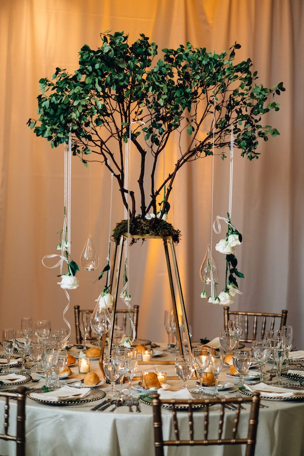 Wedding centerpiece - Esteban Daniel Photography