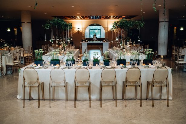 Wedding greenery decor - Esteban Daniel Photography