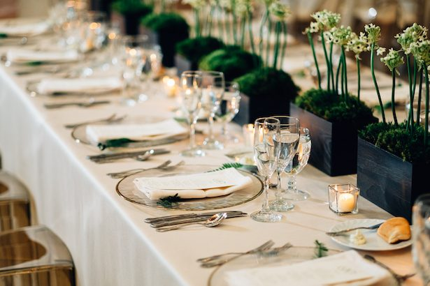 Wedding tablescape - Esteban Daniel