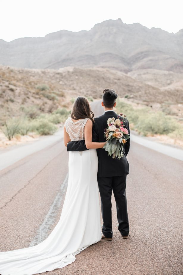 Desert Wedding - Coffee Creative Photography