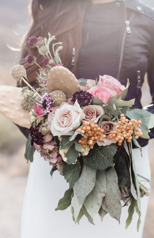 Desert inspired wedding bouquet - Coffee Creative Photography