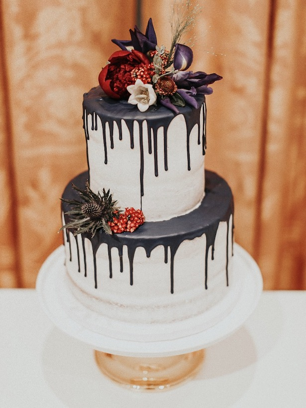 Dripping Wedding Cake - JESSIE SHULTZ PHOTO