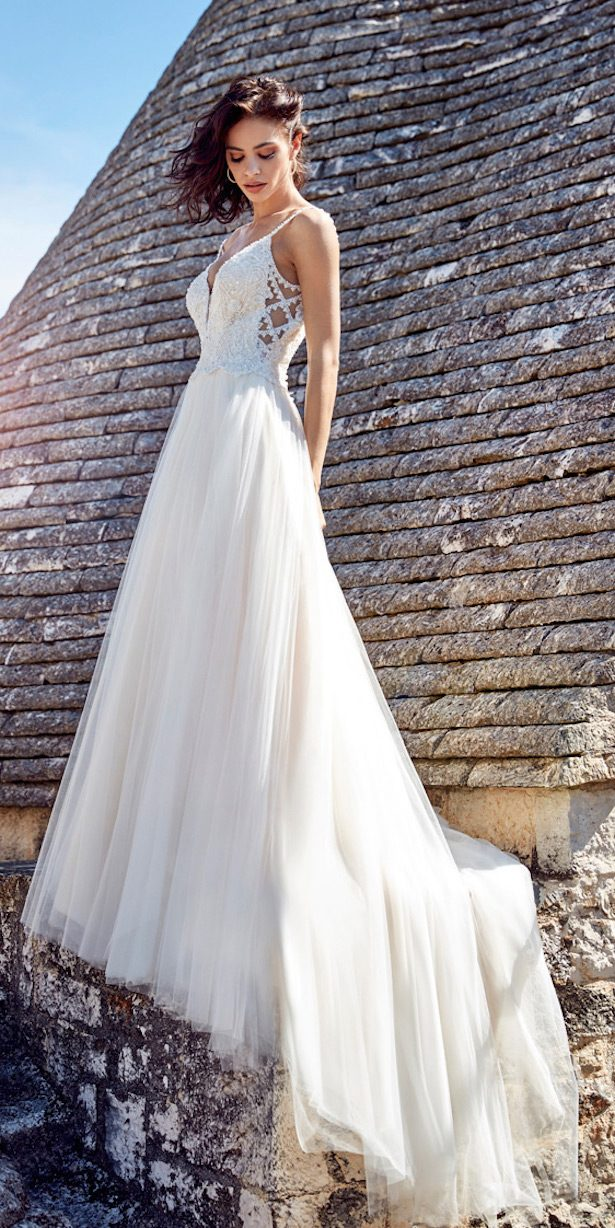 Eddy k dreams wedding dress collection 2018 belle the for The loft dresses for a wedding
