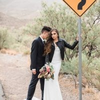 Edgy wedding look - Coffee Creative Photography