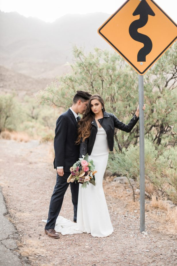 Rock and Roll Bridal Inspiration with Bohemian Desert Vibes