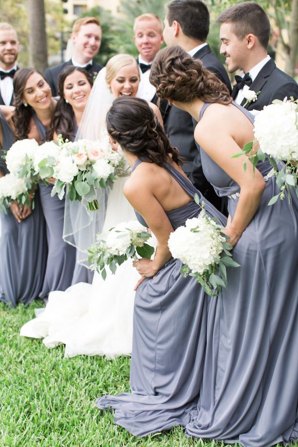 Fun wedding party photo - PSJ Photography