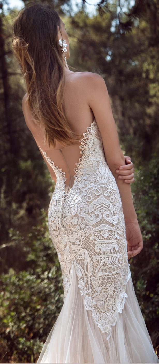 Gala collection no iv by galia lahav wedding dresses for No back wedding dress
