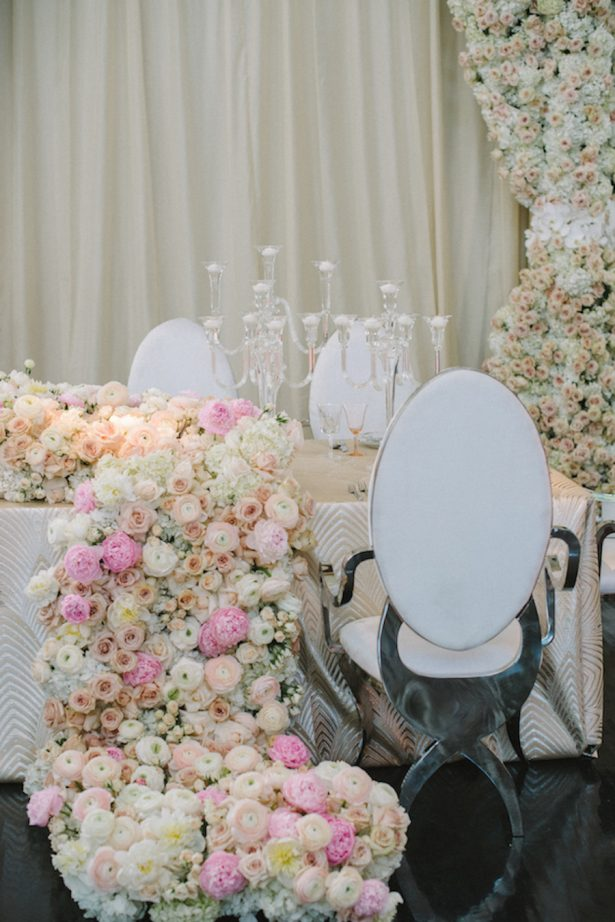 Glamorous Wedding Tablescape - Photography: Krista Mason Photography