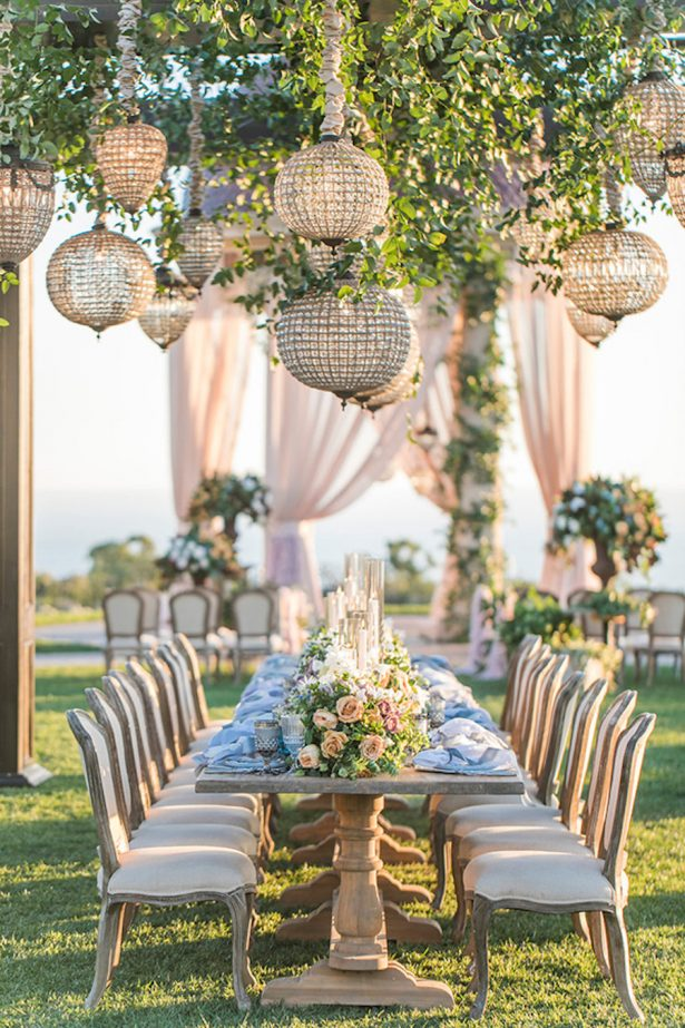 Glamorous Wedding Tablescape - Jessica Claire Photography