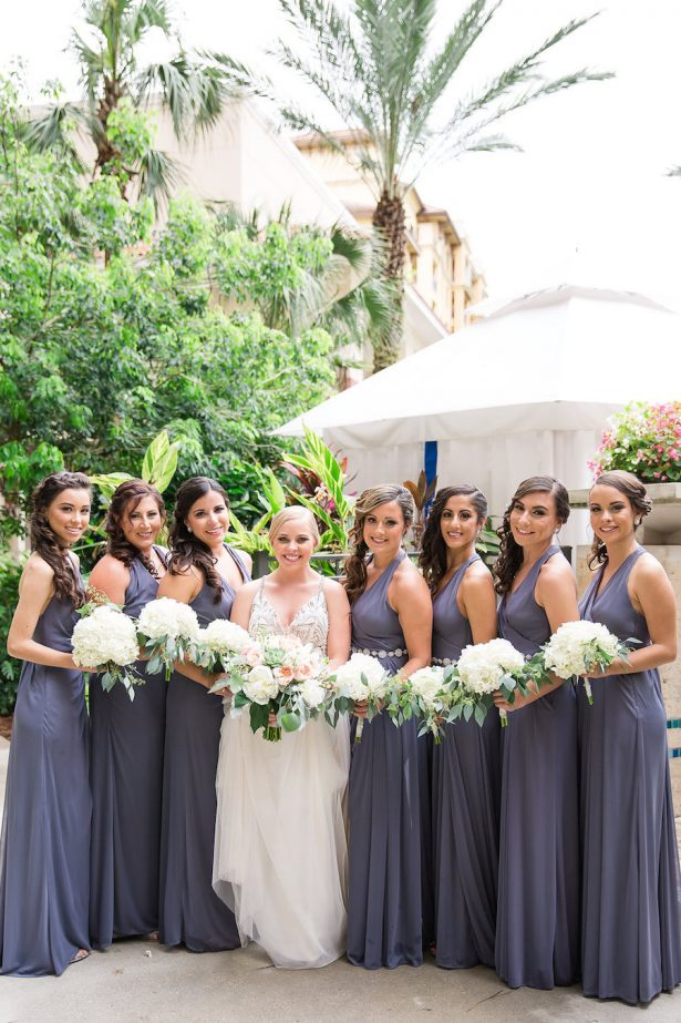 Long bridesmaid dresses - PSJ Photography