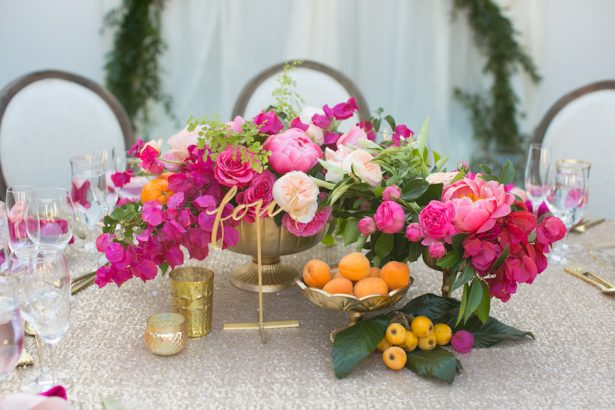 Peony Wedding Centerpiece - A Good Affair, Wedding & Event Production - Allison Maginn Photography - Venue: Bacara Resort & Spa 2