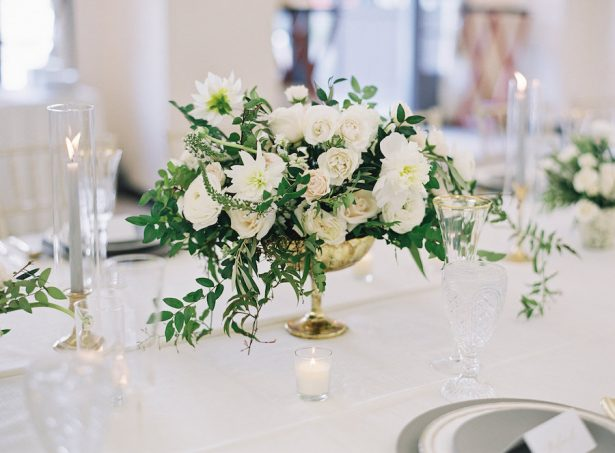 Peony Wedding Centerpiece - Sposto Photography