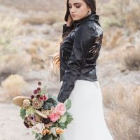 Rock and roll bride- Coffee Creative Photography
