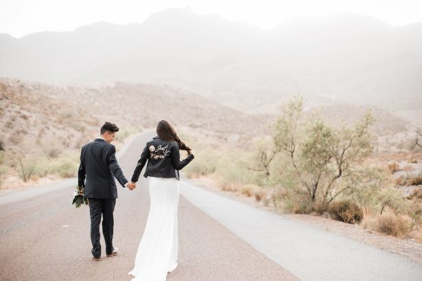 Wedding Leather jacket X - Coffee Creative Photography