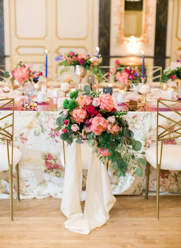 Wedding Peony Decor - Photo via Inspired By This - Rachel Havel Photography - Design:Planning: Grace & Gather Events - Floral Design: Newberry Brothers - La Tavola Linens - Venue: The Broadmoor