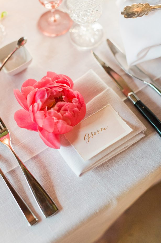 Wedding Peony Decor - Valorie Darling Photography