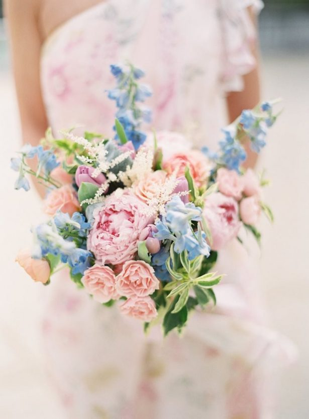 Wedding Peony bouquet -Photographer: Lauren Gabrielle