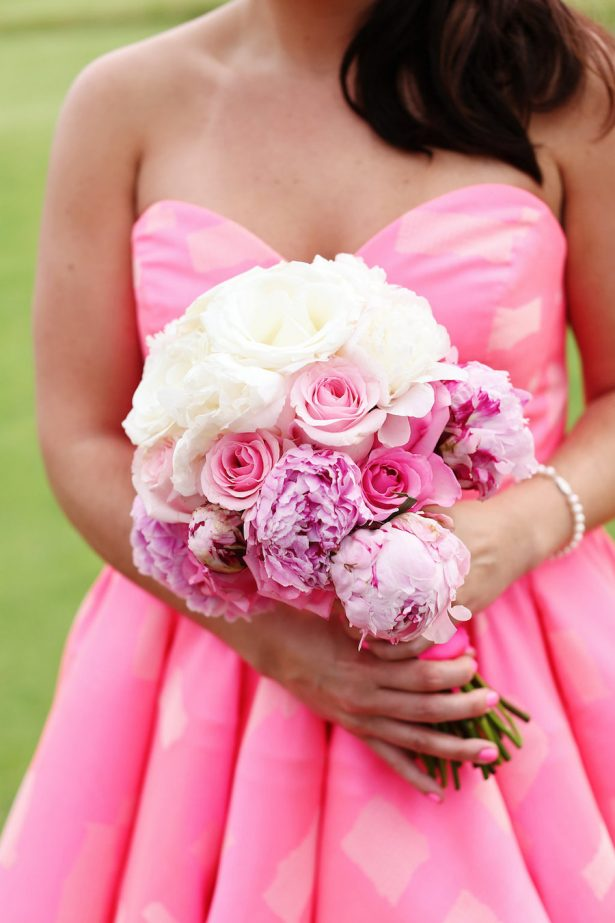 Wedding Peony bouquet - Antonia Christianson Events - Eleise Theuer Photography