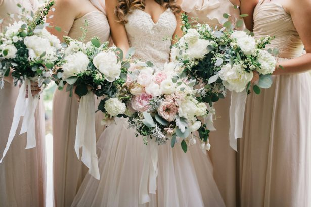 Wedding Peony bouquets - GATHER Events - Jana Williams Photography1