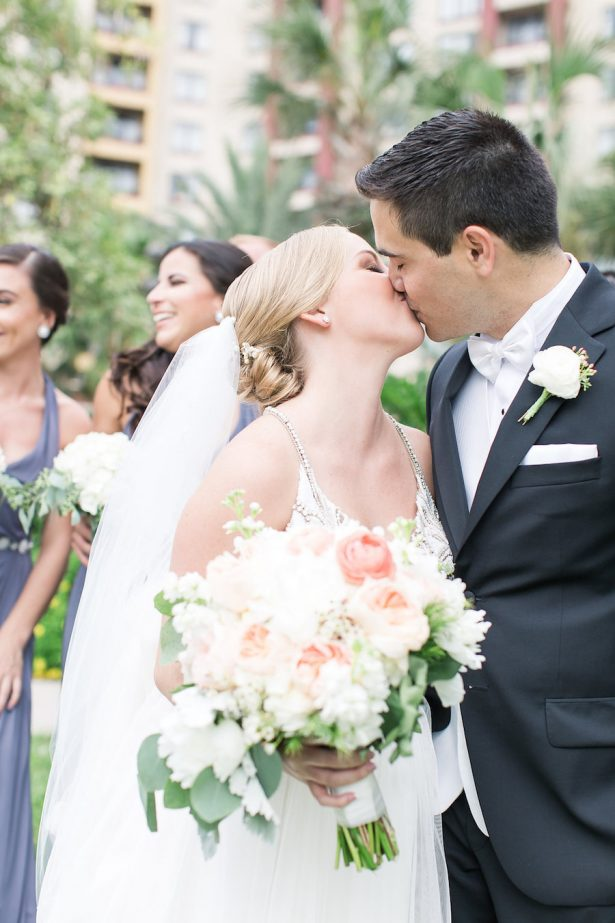 Stylish Peach Wedding - PSJ Photography